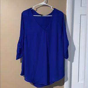 3/4 length sleeve dress top.